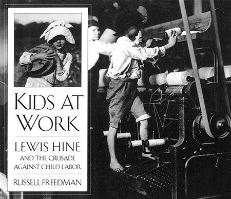 Kids at Work Lewis Hine
