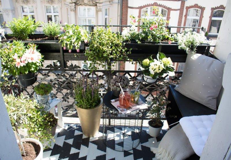 Lovely Small Balcony Ideas Paintingforhome