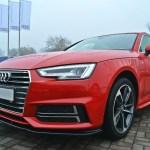 Audi A4 B9 S Line Front Splitter V2 Maxton Design Canada