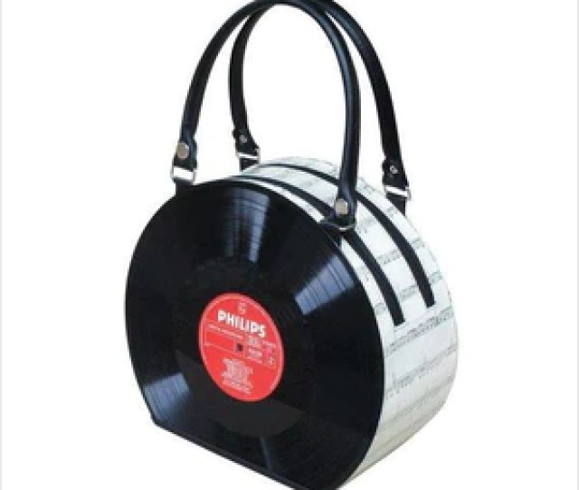 Retro Vinyl Record Handbag Handbag Www Gifteee Com Cool Gifts