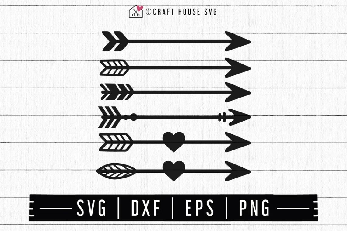 Download FREE Arrows SVG - Craft House SVG