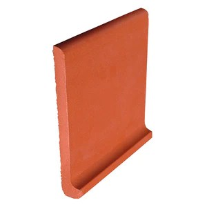 cove base quarry tile 6x6 red beige red abrasive salmon