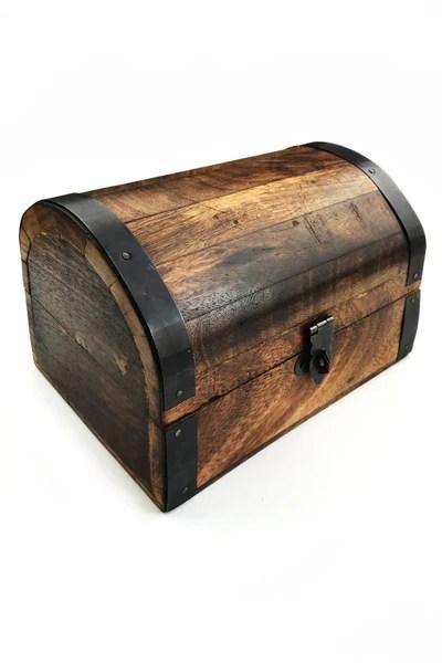 rustic treasure chest handmade dice and accessory box gameteeuk