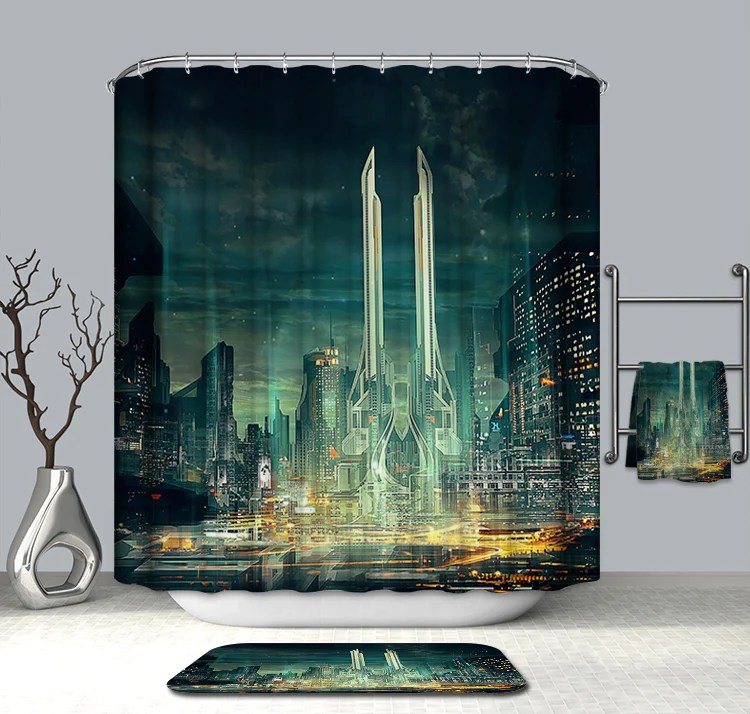 https gojeek com products assassins creed time travel shower curtain
