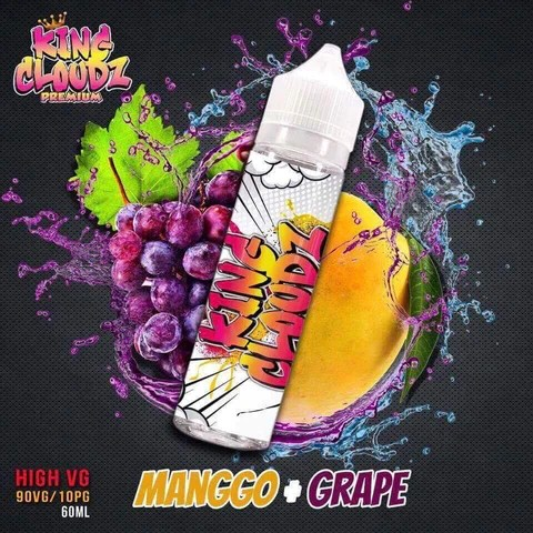 Mango Grape by King Cloudz - 60ml 0mg