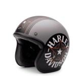Harley Davidson Grey Star Retro 3 4 Helmet Ec 98320 15e Warr S Harley Davidson