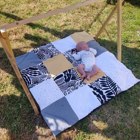 tapis d eveil sensoriel montessori pour bebe