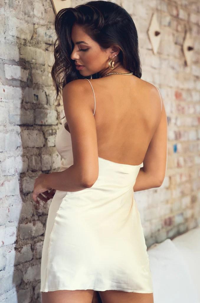 Misfit Dress - Pearl