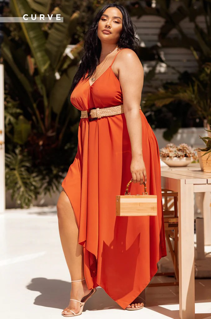 Tuscan Sun Dress - Rust 1