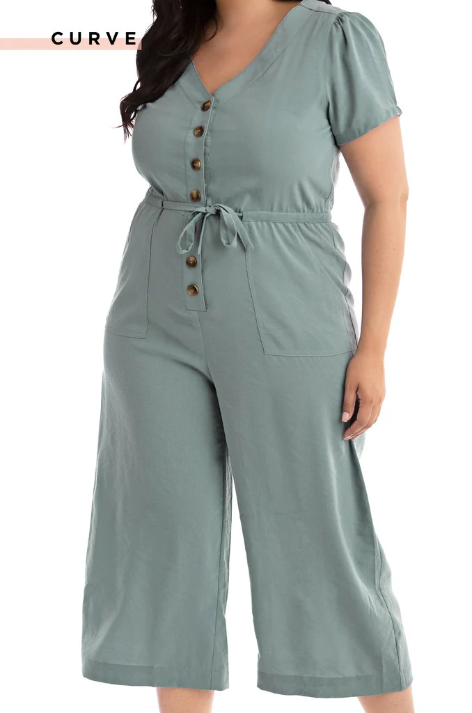 Smooth Sailing Jumpsuit - Blue 1