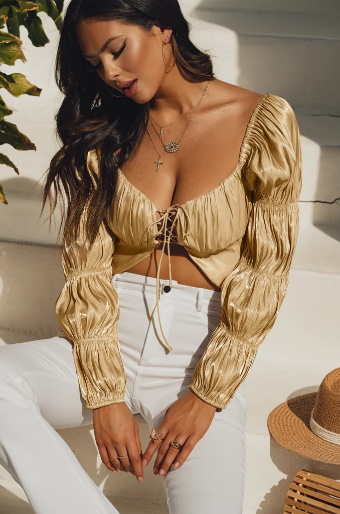 Summer Glow Top - Gold 7