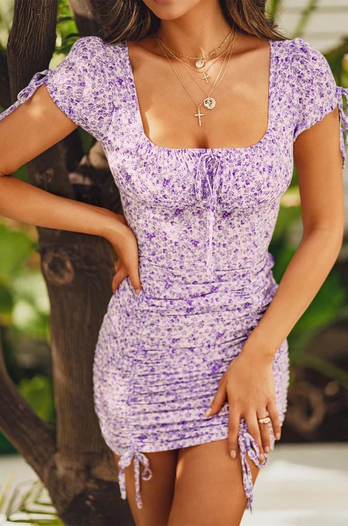 Resort Fling Dress - Floral 2