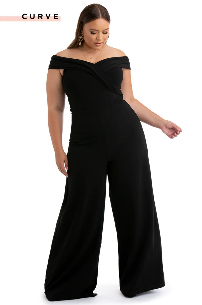 Take Me Out Jumpsuit - Black 3