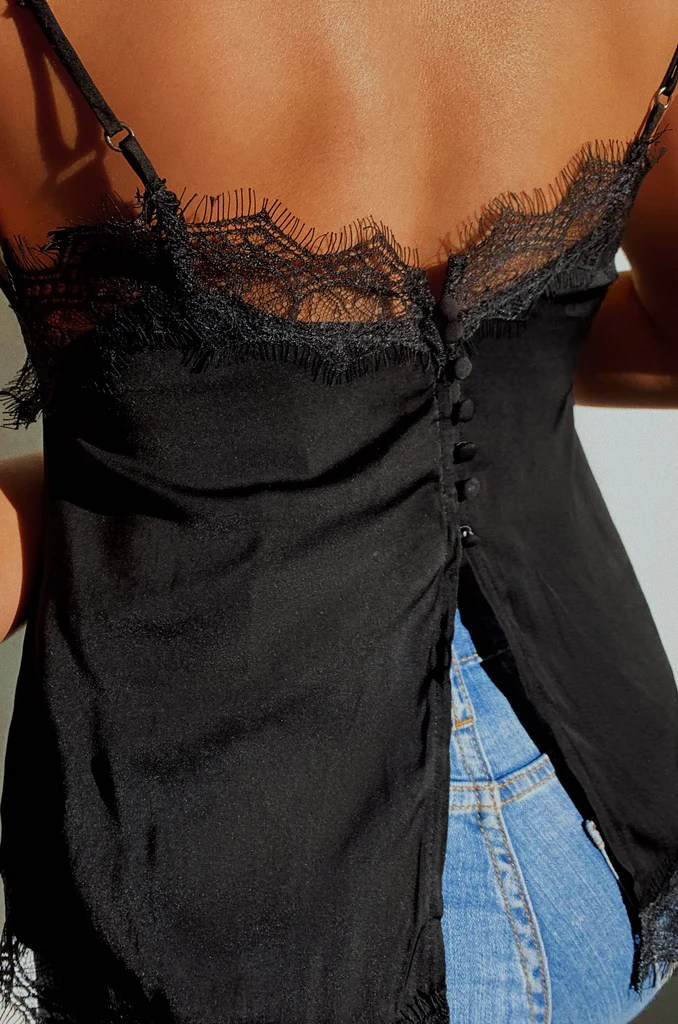 Such A Tease Top - Black