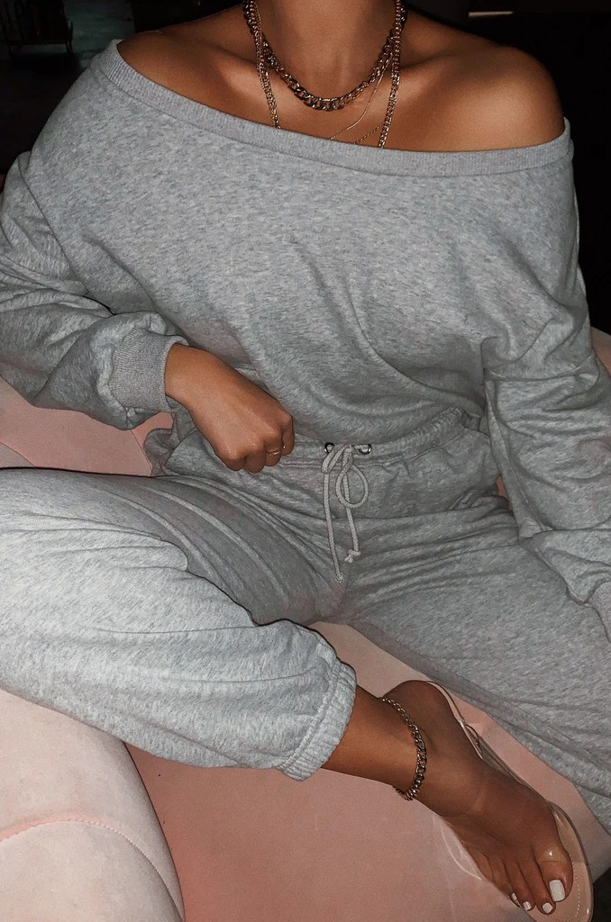 Dressed To Chill Sweat Pant - Grey 1