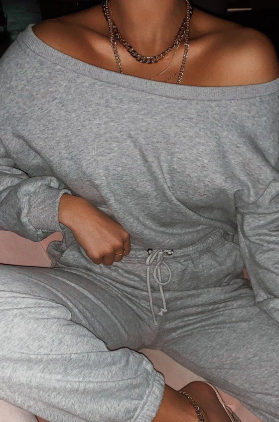 Dressed To Chill Sweater - Grey 4