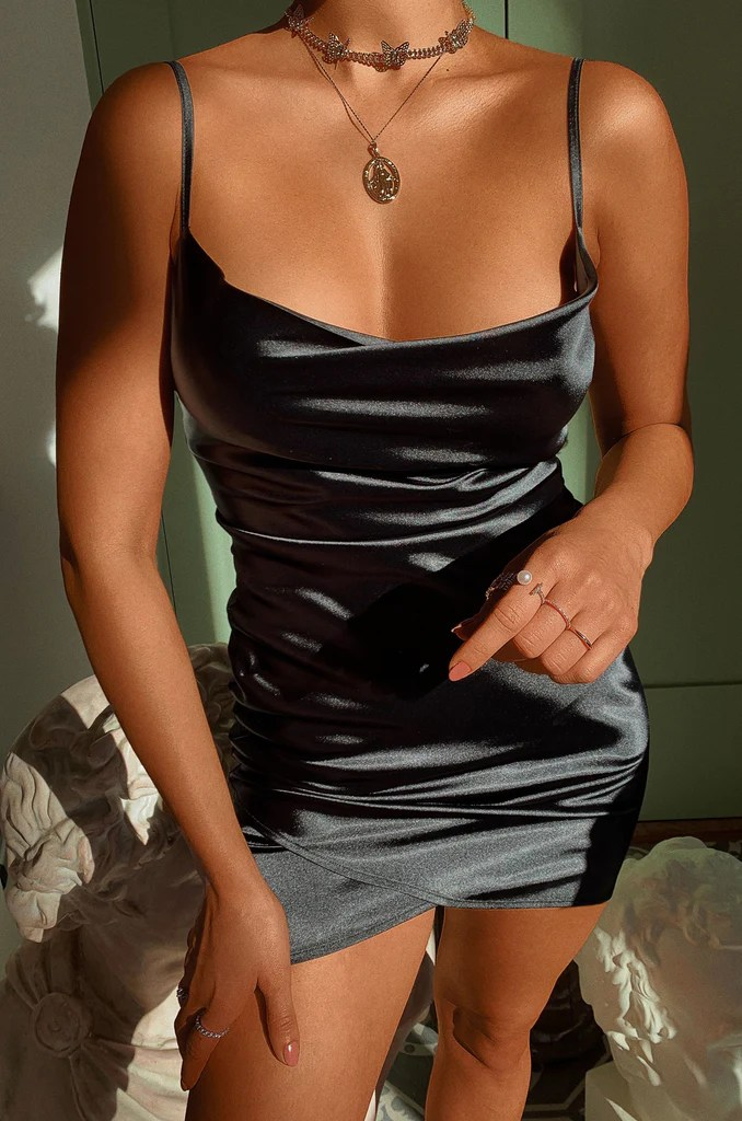 All Yours Dress - Black 2