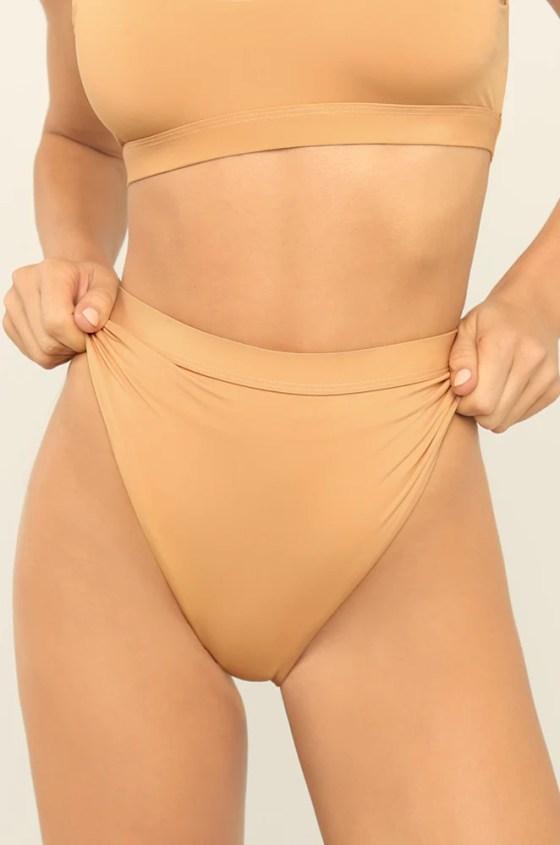 New Wave Bikini Bottom - Nude 9