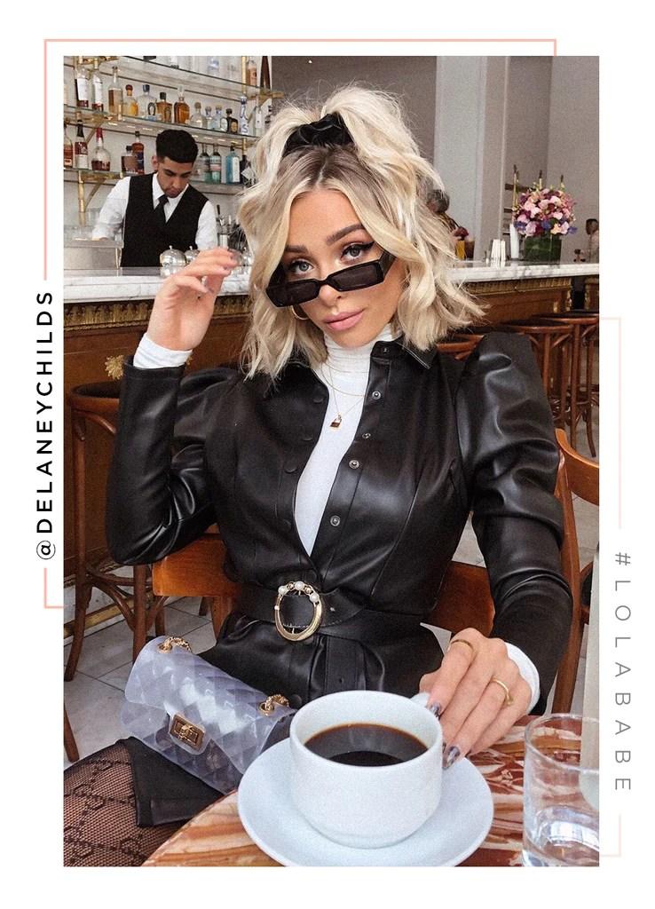 The Money Look Dress - Black 1