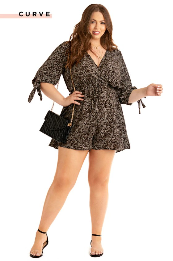 Love Her Romper - Black 9