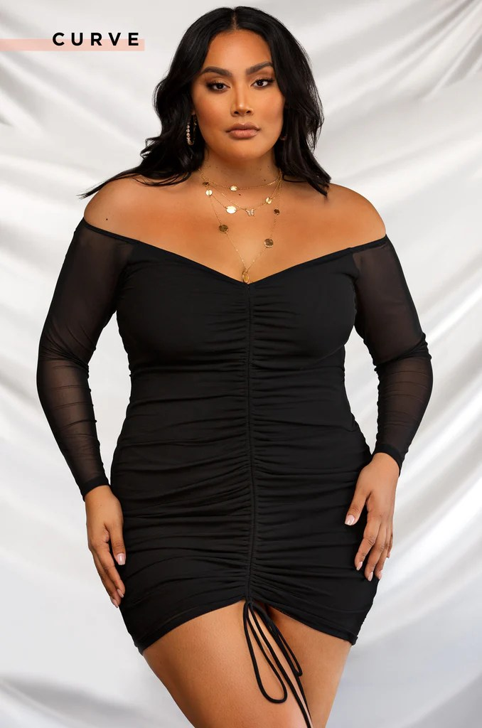 Once In A Lifetime Dress - Black 2