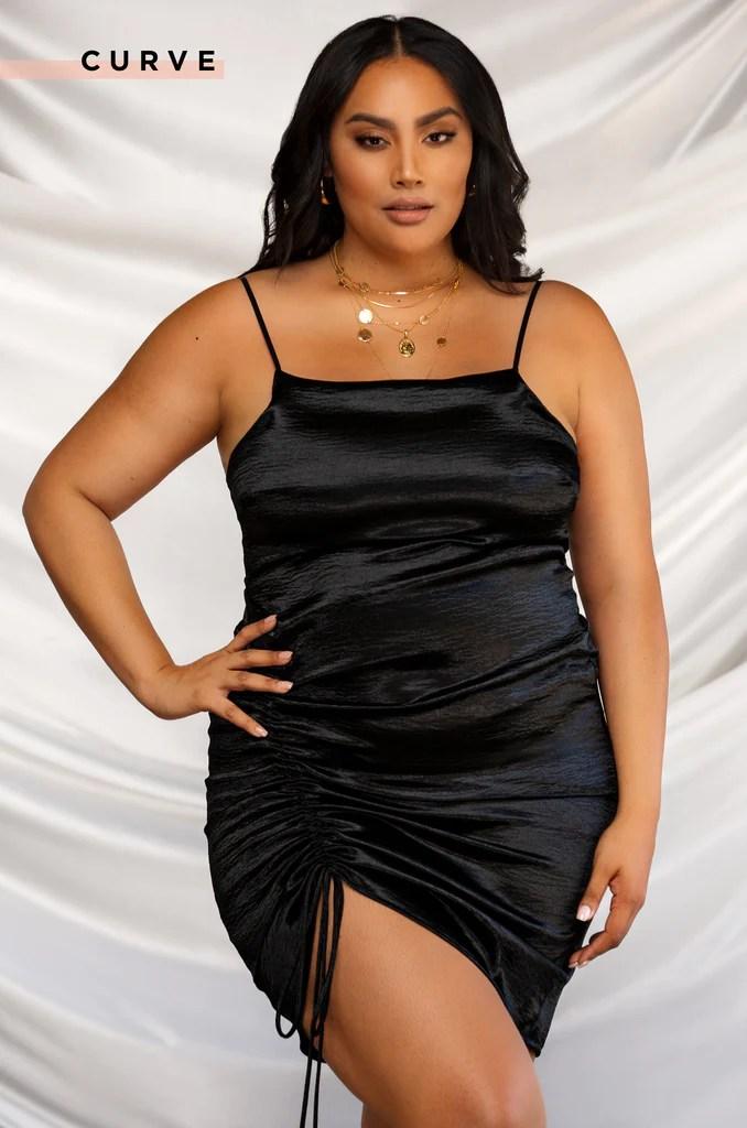 Hard To Resist Dress - Black 16