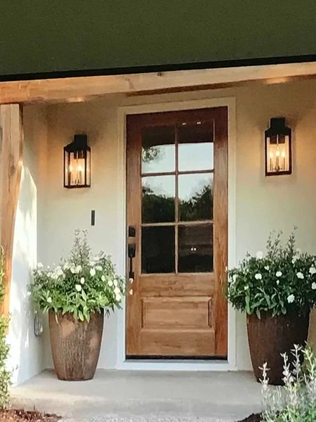 front porch lights with camera online