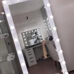 Hollywood Dream Full Length Vanity Mirror Medina Vanity
