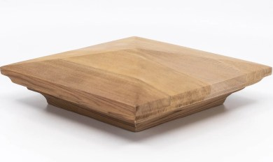 Cedar Wood Post Caps | Wooden Thing