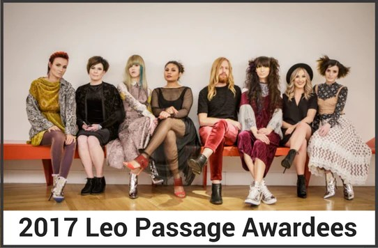 2017 Leo Passage Awardees