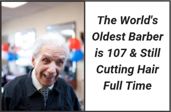 Anthony Mancinelli - World's Oldest Barber