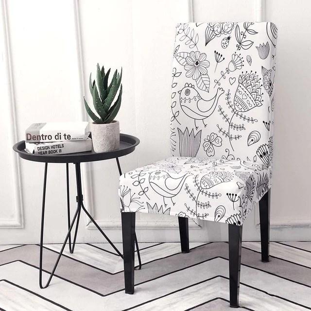 housse de chaise extensible bleuteck