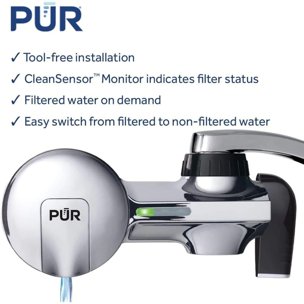 pur water filter advanced pur faucet