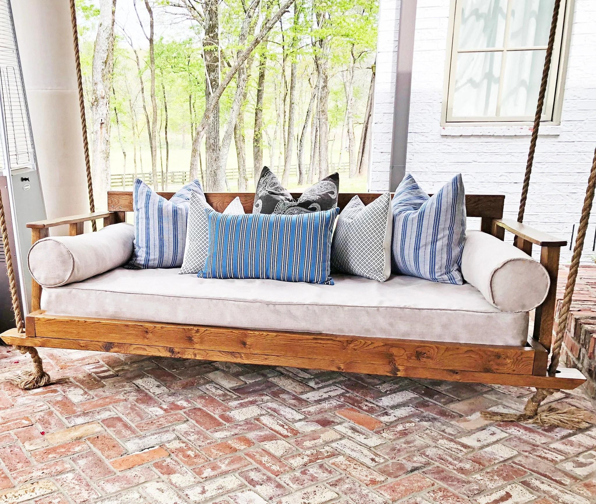 outdoor porch swing mattress cover twin mattress cover indoor outdoor tan porch daybed mattress cover day bed sheet linen crib size mattress