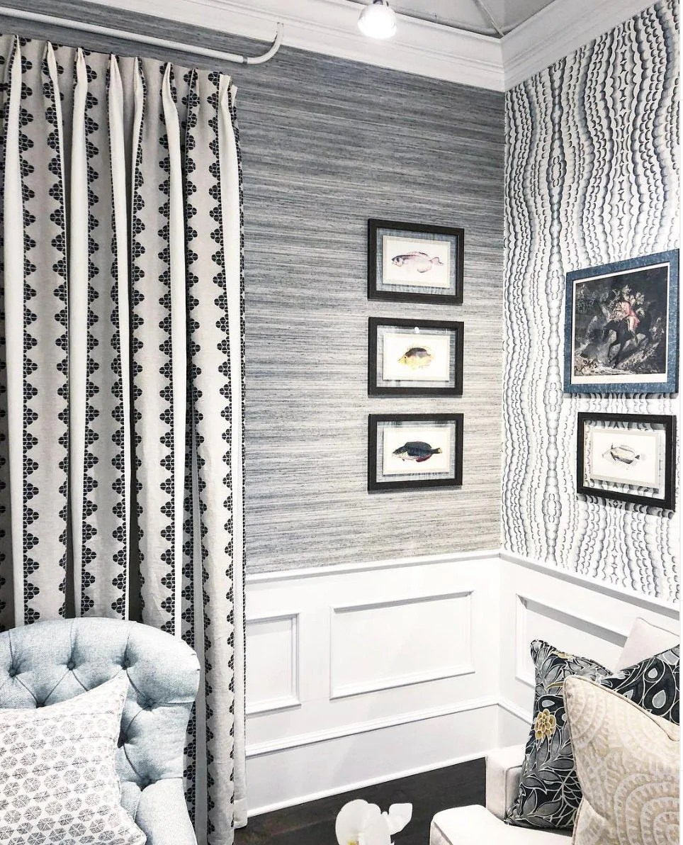 black white curtains thibaut curtains vertical stripe curtain panels ikat stripe drapes boho curtains charcoal grey graphite grey gray drape