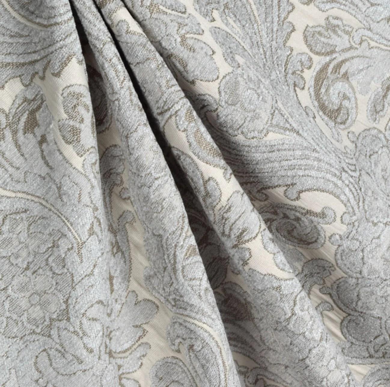 french grey curtains chenille damask country farmhouse curtains shabby chic custom curtain panel grey linen curtains light grey curtains