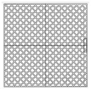 adhesive mosaic mesh 12 x 12 pack of 50