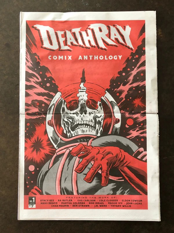 Death-Ray Comix Anthology Issue #1