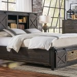 Sun Valley Cal King Bed Storage Headboard W Rotating Storage Bedroom Furniture In Vancouver Wa Vancouver Woodworks