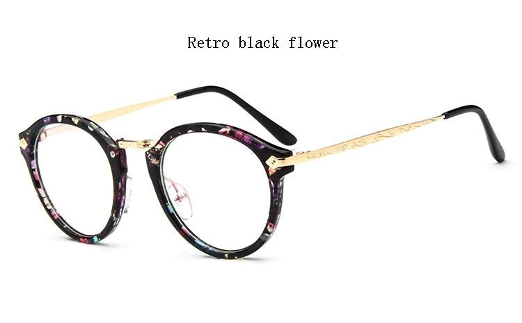 b6baa32fab0a ... Metal Eyeglass Frames. 2016 Newest Korea Style Pastoral Style Floral  Full Frames Optical