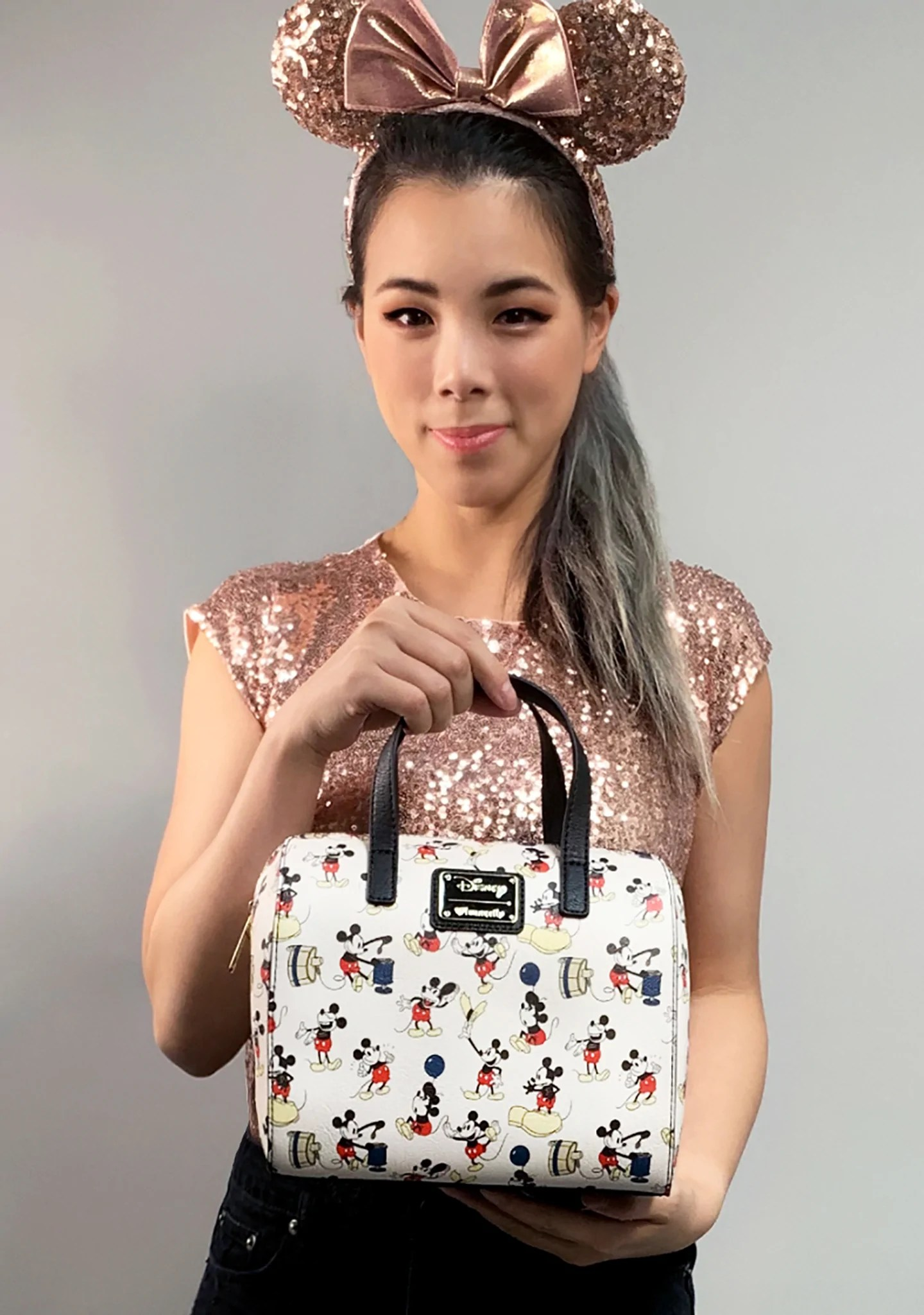 LOUNGEFLY Shop Loungefly X Disney Mickey Poses Duffle