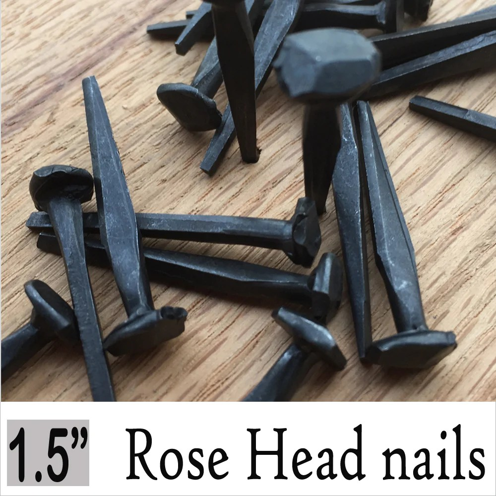5 8 Rose Head Nails Antiquehardwaredepot Com