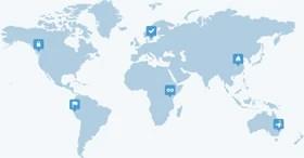 Worldwide hosting