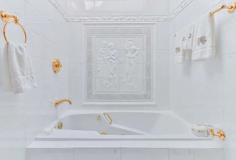 install bathtub and shower faucet