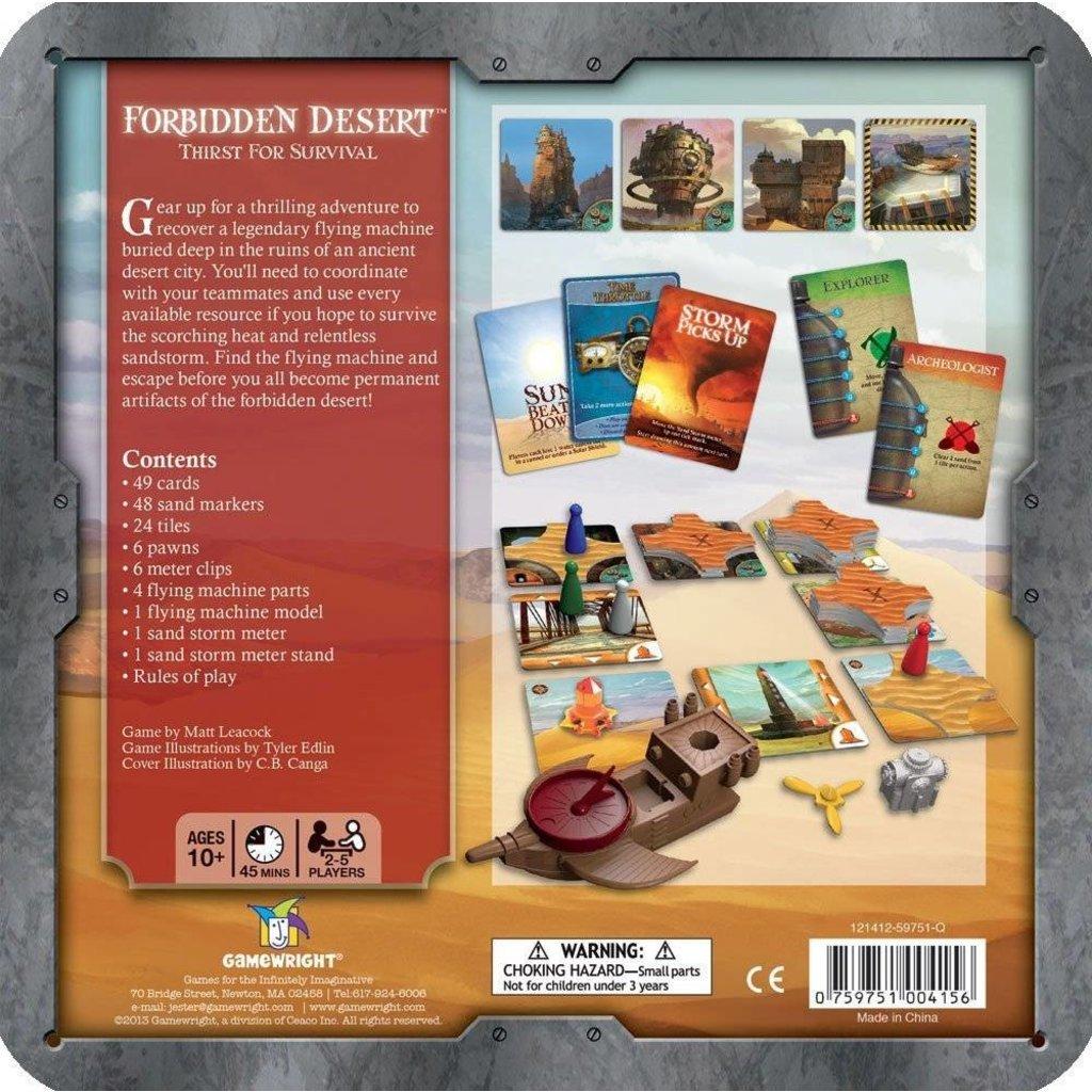 Gamewright Game Forbidden Desert