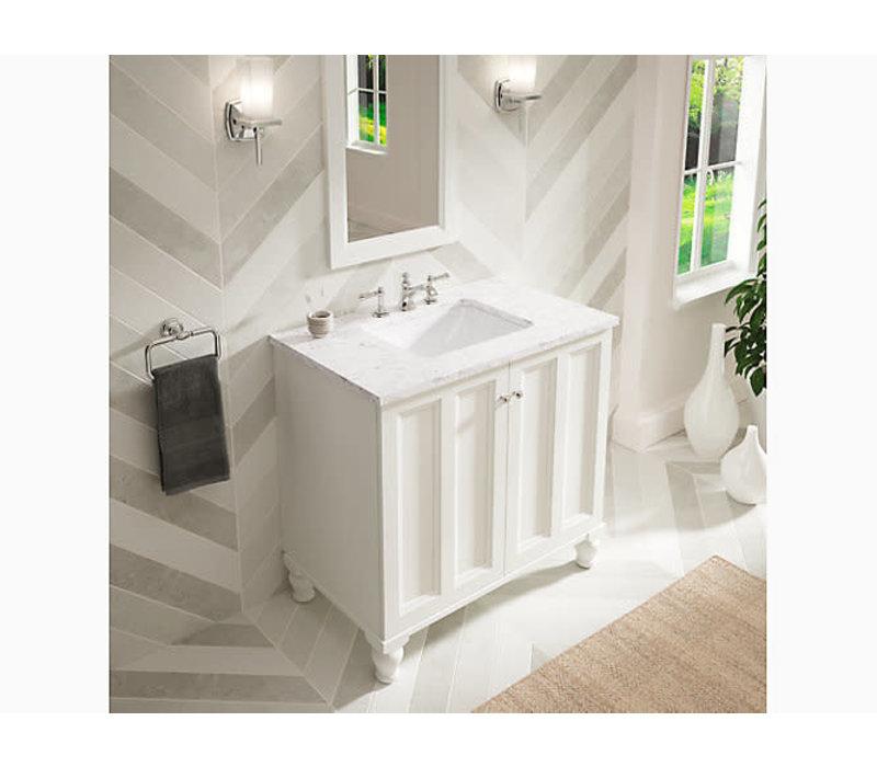 kohler kohler caxton rectangular sink