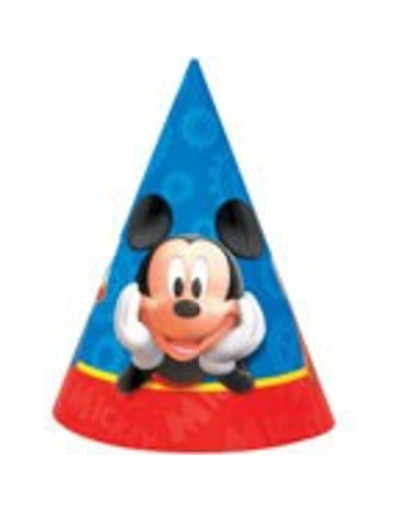 Mickey Mouse Party Hats 8 It S My Party