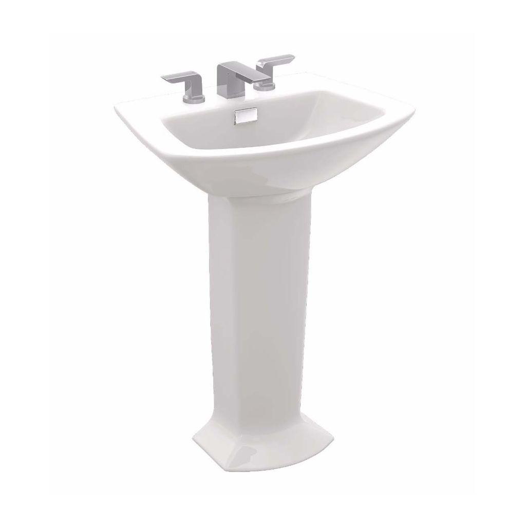 toto lpt960 soiree pedestal bathroom sinks cotton