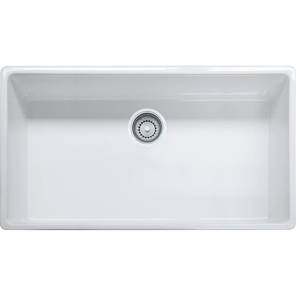 franke farm house fhk710 36 fireclay white sink