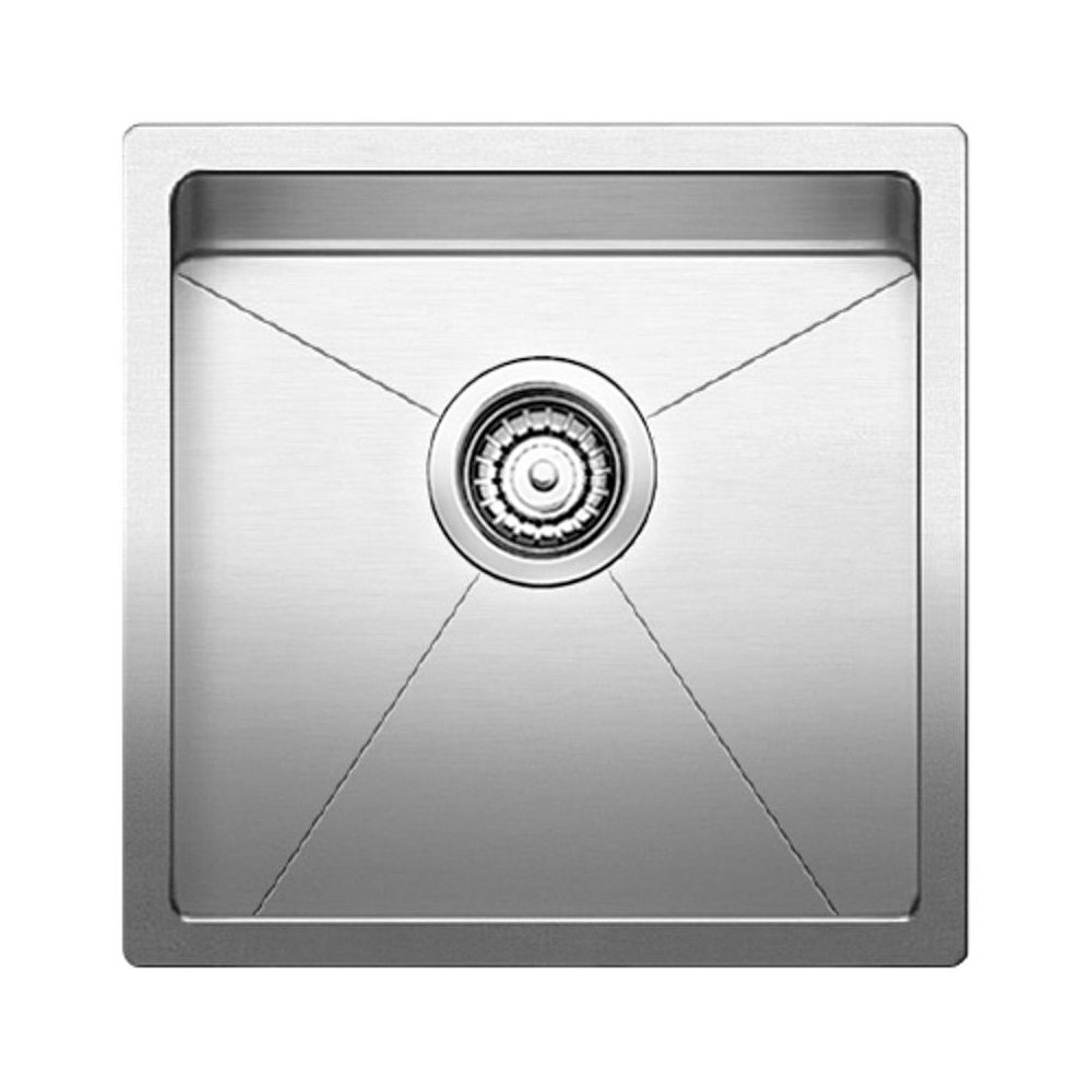 blanco 401515 quatrus r15 u single undermount bar sink